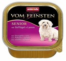 Корм для пожилых собак Animonda Vom Feinsten домашняя птица, ягненок 150г
