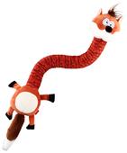 Игрушка для собак GiGwi Cruncy transforming Лиса с хрустящей шеей (75414)