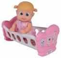 Кукла bouncin' babies Бони с кроваткой, 16 см, 803002