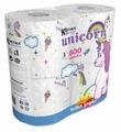 Туалетная бумага World Cart Kartika collection Unicorn белая трёхслойная
