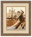 Золотое Руно Набор для вышивания Венецианское танго 39 х 32 см (ГТ-044)
