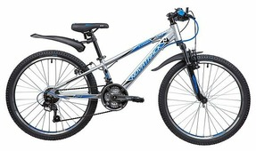 Подростковый горный (MTB) велосипед Novatrack Lumen 24 (2019)