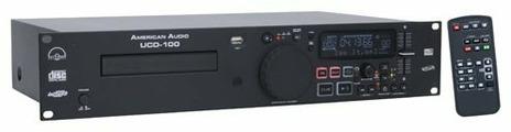 DJ CD-проигрыватель American Audio UCD-100