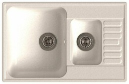 Врезная кухонная мойка LEX St. Moritz 740 74х48см полимер