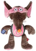Игрушка для собак GiGwi Agent GiGwi Слон с теннисным мячом (75477)