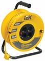 IEK Удлинитель на катушке 4х40м с заземл. 10А IP20 УК40 Industrial с термозащ. 3х1