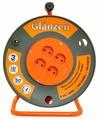 Glanzen Удлинитель силовой на катушке 4 гн. ПВС 2х2.5 EB-50-008