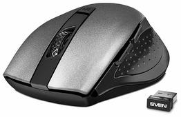 Мышь SVEN RX-425W Grey USB