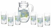 Набор Endura Blue River кувшин + стаканы 7 предметов