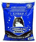 Наполнитель Сибирская кошка Супер (20 кг)