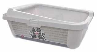 Туалет-лоток для кошек Moderna Hercules Cats In Love 51х39х19 см