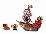 Игровой набор Keenway Корабль с красным парусом