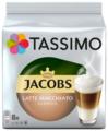 Кофе в капсулах с жидким молоком Tassimo Jacobs Latte Macchiato Classico (8 капс.)