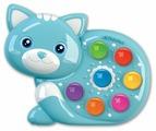 Интерактивная развивающая игрушка Азбукварик Веселушки Котенок