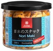 Tako samurai Японский крекер микс Nori maki 200 г