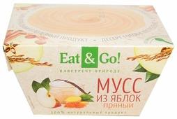 Мусс Eat&Go! из яблок пряный 0.7%, 150 г