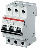 Автоматический выключатель ABB S203P 3P (С) 25kA