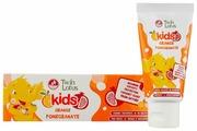Зубная паста Twin Lotus Kids апельсин и гранат 3-10 лет