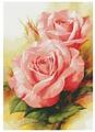 Белоснежка Набор для вышивания Королевские розы 64 x 91 см (6080)