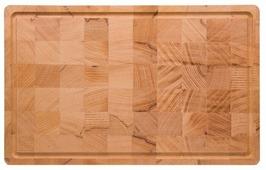 Разделочная доска Bent Wood торцевая 40х25х2 см из бука