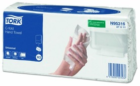 Полотенца бумажные TORK Universal c-fold 471111