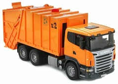 Мусоровоз Bruder Scania (03-560) 1:16 62 см