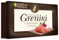 Хлебцы Хлебцы-молодцы Greniki с кориандром и тмином 100 г