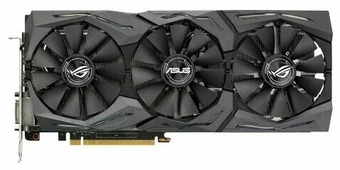 Видеокарта ASUS GeForce GTX 1070 1506MHz PCI-E 3.0 8192MB 8008MHz 256 bit DVI 2xHDMI HDCP Strix Gaming
