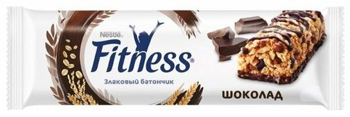 Злаковый батончик Nestle Fitness Шоколад, 23.5 г
