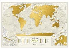 1DEA.me Скретч Карта Мира Geography