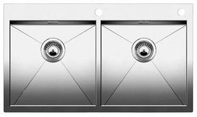 Интегрированная кухонная мойка Blanco Zerox 400/400-IF/A