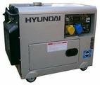 Дизельный генератор Hyundai DHY-6000 SE-3 (5000 Вт)