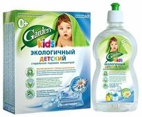 """Набор Garden Eco Kids """"Ромашка"""": стиральный порошок + жидкость для мытья посуды и игрушек"""