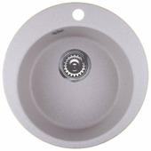Врезная кухонная мойка Granula 4801 48х48см искусственный гранит