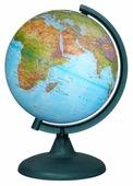Глобус физико-политический Глобусный мир Двойная карта 210 мм (10093)