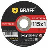 Диск отрезной 115x1x22.23 GRAFF GADM 115 10