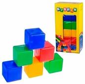 Кубики Новокузнецкий завод пластмасс 36 деталей