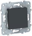 Кнопочный выключатель (кнопка) Schneider Electric NU520654,10А, антрацит