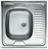 Накладная кухонная мойка Kromrus S-409 60х60см нержавеющая сталь