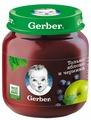 Пюре Gerber Только яблоко и черника (с 5 месяцев) 130 г, 1 шт