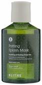 BLITHE Сплэш-маска для восстановления Soothing&Healing Green Tea
