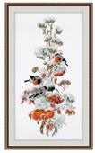 Овен Цветной Вышивка крестом Зимняя композиция 20 х 44 см (950)