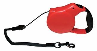 Поводок-рулетка для собак КАСКАД Автоматическая тросовая (12 кг)