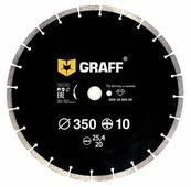 Диск алмазный отрезной 350x3.4x25.4 GRAFF GDD 18 350.10