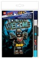 Канцелярский набор LEGO Lego Movie 2 Batman (52301), 3 пр.