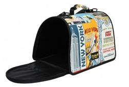 Переноска-сумка для кошек и собак PRIDE Нью-Йорк 44х27х27 см