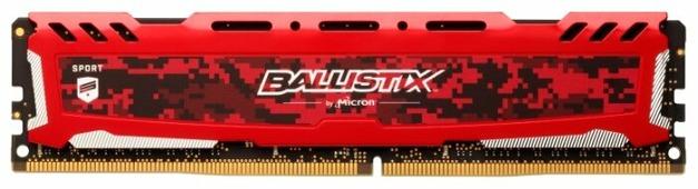 Оперативная память 8 ГБ 1 шт. Ballistix BLS8G4D30AESEK
