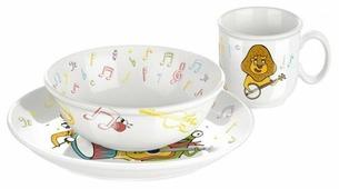 Набор для завтрака Tescoma Bambini Музыканты 3 предмета