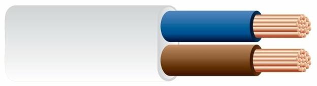 Провод Рэмз ШВВП 2х0.75 (100 м) ГОСТ