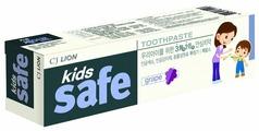 Зубная паста Lion Kids Safe виноград 3-12 лет